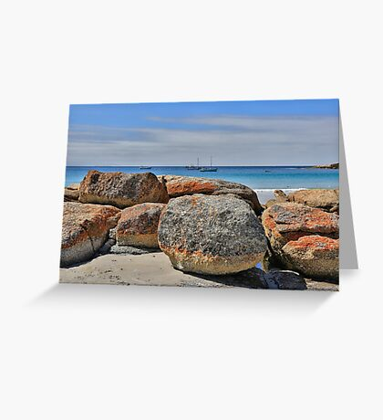 East Coast Tasmania australia Greeting Card