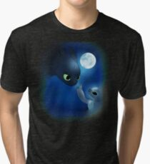 How to Train Stitch's Dragon Tri-blend T-Shirt