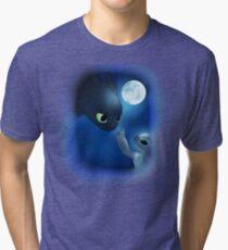 How to Train Stitch's Dragon Tri-blend T-Shirt