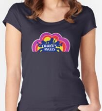CHARLIE'S ANGELS Women's Fitted Scoop T-Shirt