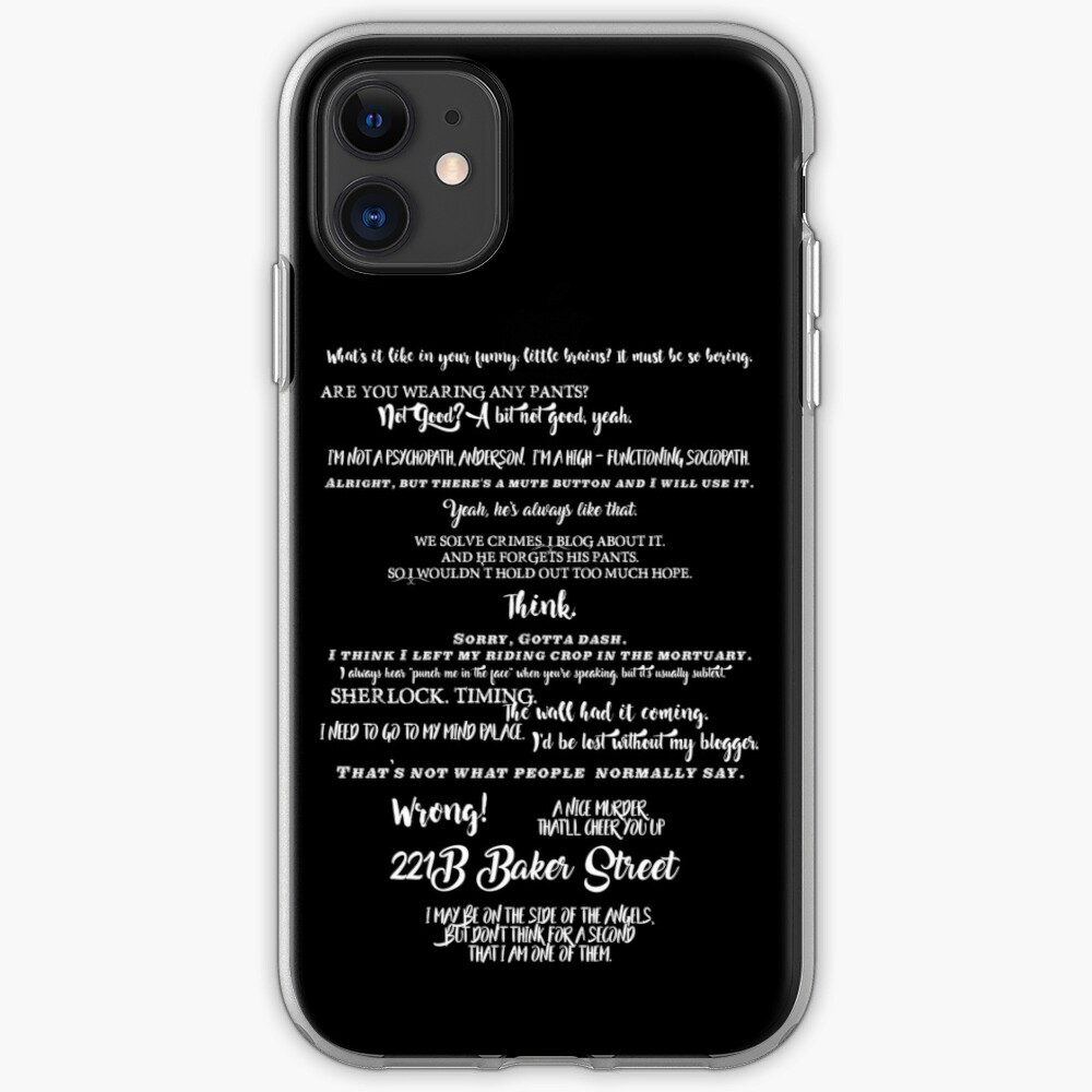 It Was a Murder But not a crime iphone case