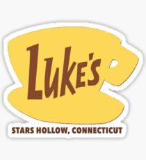 Luke's Diner - Stars Hollow Sticker