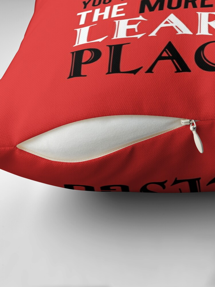 Alternate view of Dr Suess The Places You'll Go Throw Pillow
