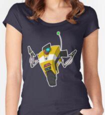 Claptrap Sticker Women's Fitted Scoop T-Shirt