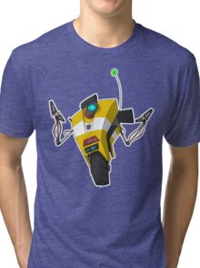 Claptrap Sticker Tri-blend T-Shirt
