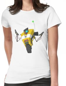 Claptrap Sticker Womens Fitted T-Shirt