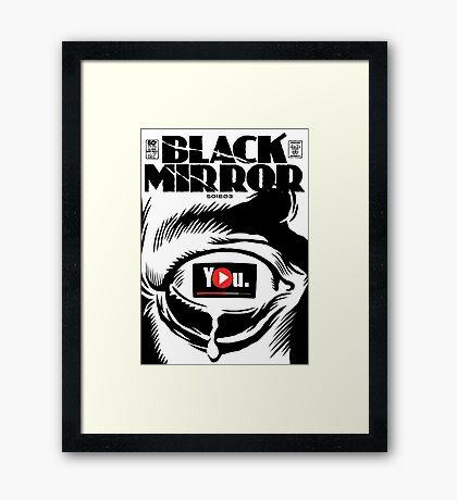History   Black & White Framed Print