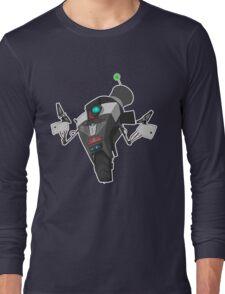 Fancy Claptrap Sticker Long Sleeve T-Shirt