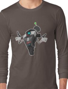 Fancy Claptrap Sticker Long Sleeve T-Shirt