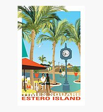 Fort Myers Beach Pier (Times Square, Estero Island) Photographic Print