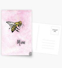 Bee Mine Postcards