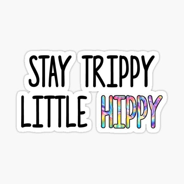 Little Hippy Sticker