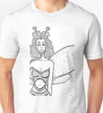 Sad Bumble Bee Girl T-Shirt
