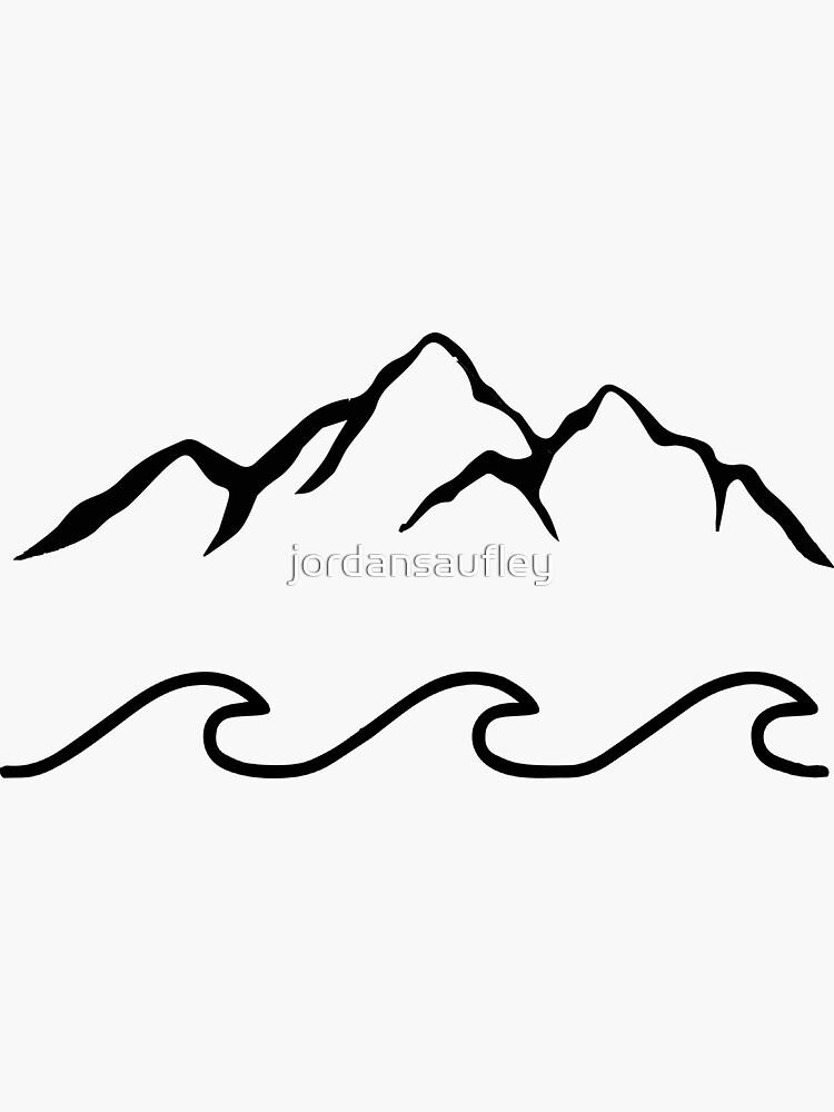 Montañas y mar de jordansaufley