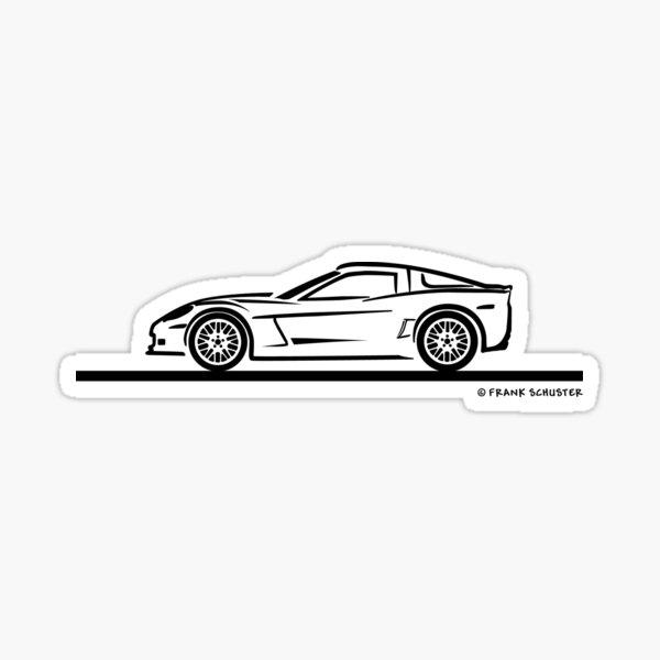 Chevrolet Corvette C7 Stingray Sticker
