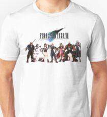 Final Fantasy VII characters Unisex T-Shirt