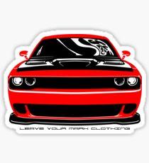 Give'em Hell Dodge Challenger Sticker