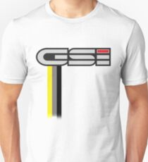 GSI with stripes Unisex T-Shirt