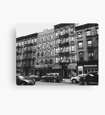 Street in Greenwich Village Canvas Print