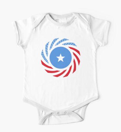 Somali American Multinational Patriot Flag Series Kids Clothes