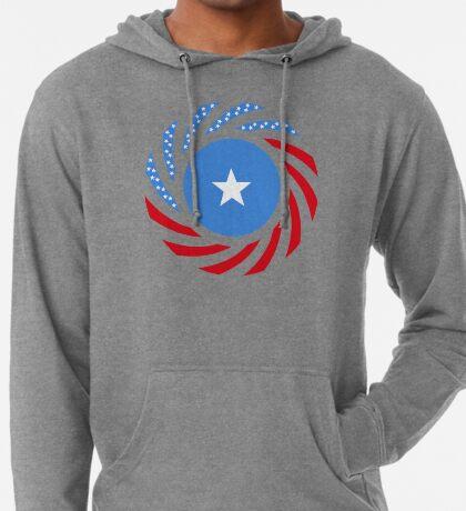 Somali American Multinational Patriot Flag Series Lightweight Hoodie