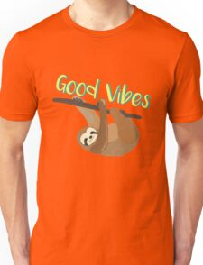 Sloth Good Vibes Unisex T-Shirt