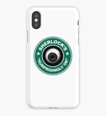 Sherlock's Coffee - Surprisingly OK! iPhone Case/Skin