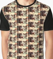 """DEER """"WHO IS THERE?"""" Graphic T-Shirt"""