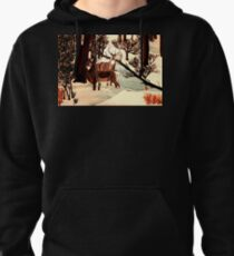 """DEER """"WHO IS THERE?"""" Pullover Hoodie"""