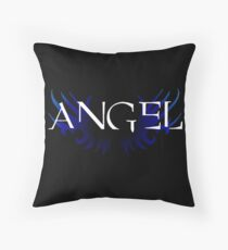Angel Wing Logo Throw Pillow