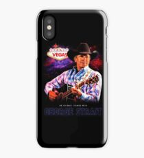 george strait to las vegas live in concert 2017 iPhone Case