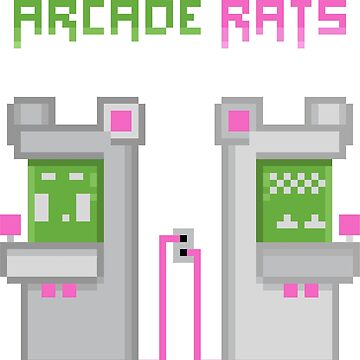Arcade Rats - Twin Cabs by marcbeaudette