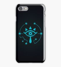 Zelda Breath of the Wild Sheikah eye iPhone Case/Skin