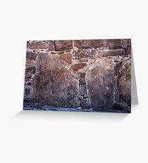 Mayan pictographs, Pelanque Greeting Card