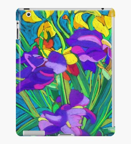 Mixed Iris iPad Case/Skin