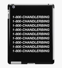 1-800-Chandler-Bing (Black) iPad Case/Skin