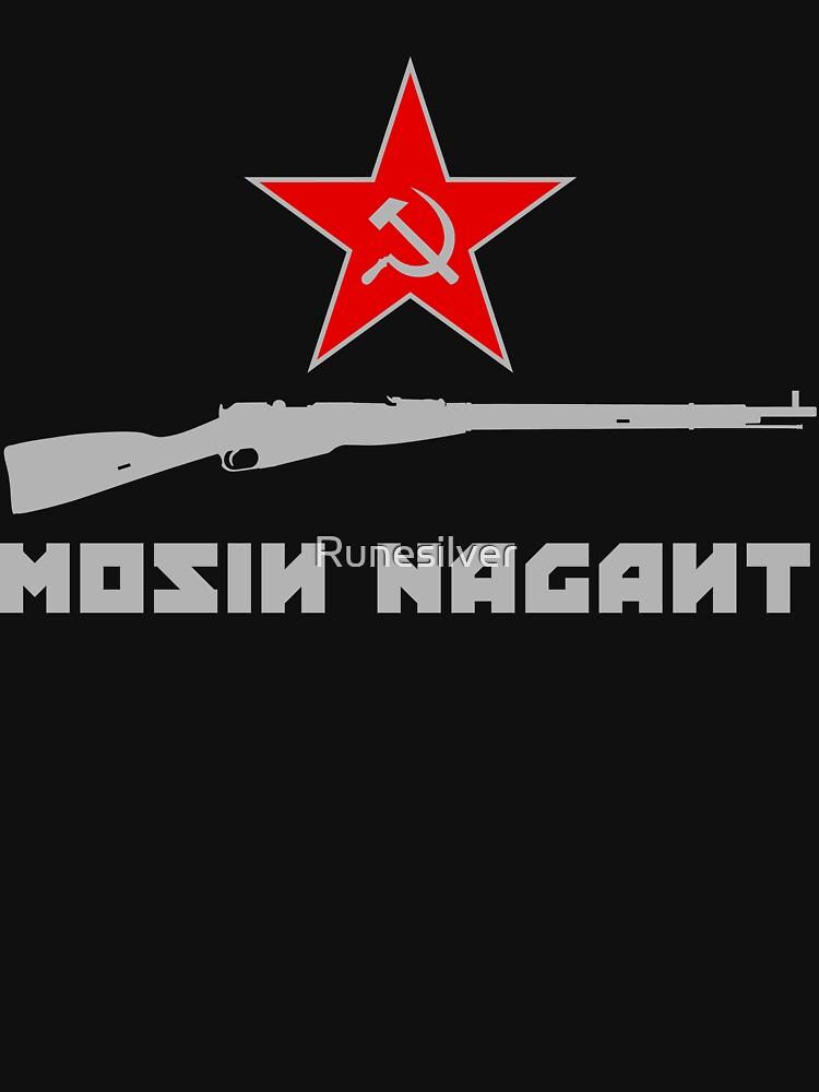 Mosin Nagant Rifle Liebhaber von Runesilver