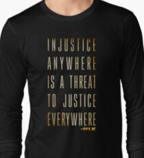 Martin Luther King Jr. Typography Quotes T-Shirt