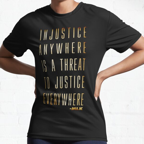 Martin Luther King Jr. Typography Quotes Active T-Shirt
