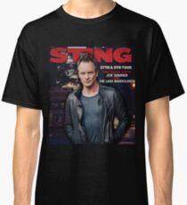 sting 57th & 9th tour 2017 Classic T-Shirt