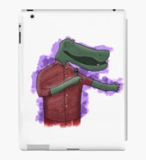 Alligator Comedian iPad Case/Skin