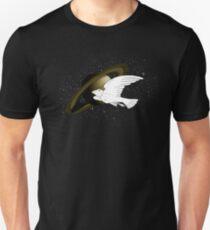 Bird in Spaaaaaaaaaaaaaaaaaaaaace Unisex T-Shirt