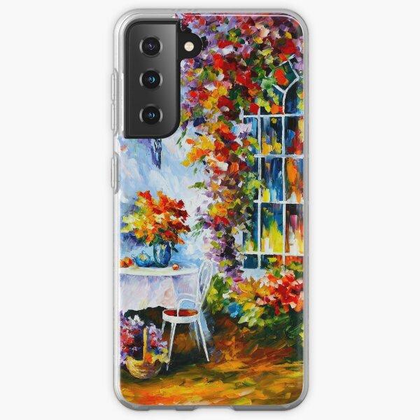 IN THE GARDEN - Leonid Afremov Samsung Galaxy Soft Case