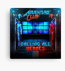 adventure club Canvas Print
