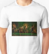 Group of contemporary dancers performing on stage T-Shirt