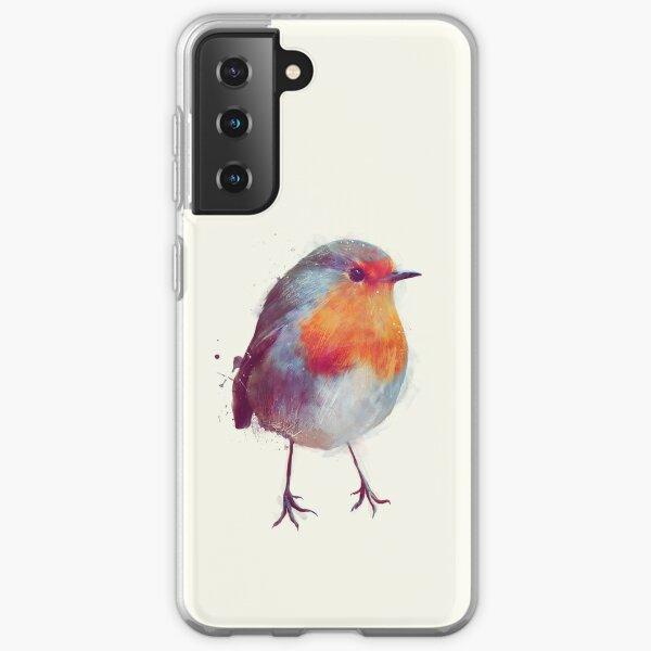 Winter Robin Samsung Galaxy Soft Case