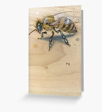 Bee #1 Greeting Card