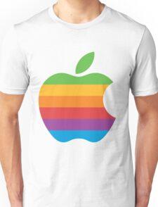Retro Apple Logo Unisex T-Shirt