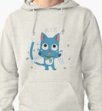 Happy Fairy Tail Cat Pullover Hoodie