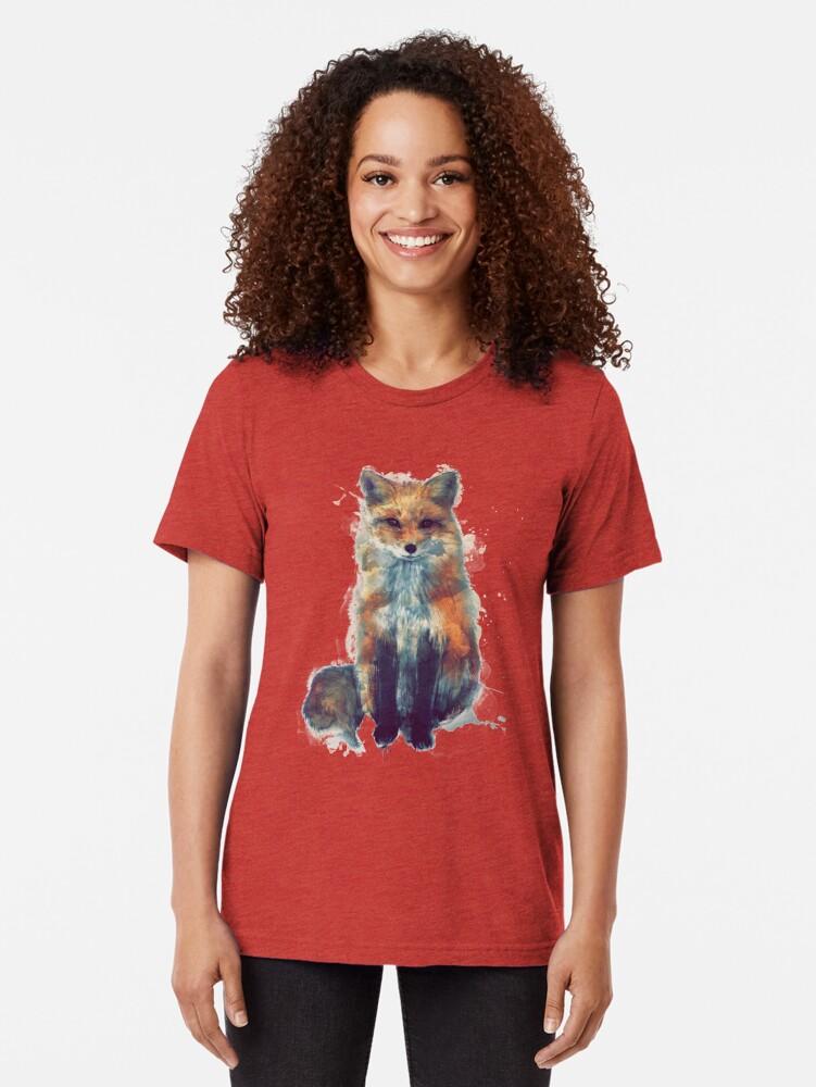 Alternate view of Fox Tri-blend T-Shirt